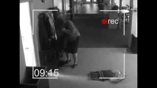 schoolteachers caught by security camera