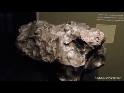 American Museum of Natural History, New York  l  Meteorites