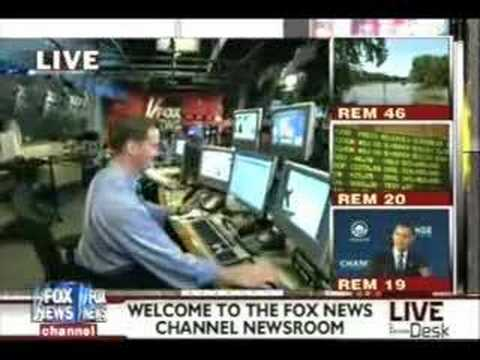 Behind the Scenes Tour of the Fox Newsroom!