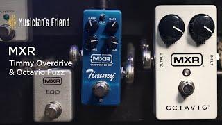 MXR Timmy Overdrive & Octavio Fuzz - Winter NAMM 2020