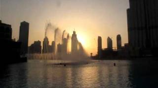 Dubai Fountain - I will always love you