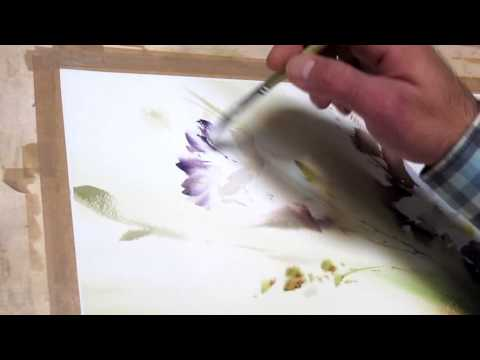 yazdchi watercolor painting-3