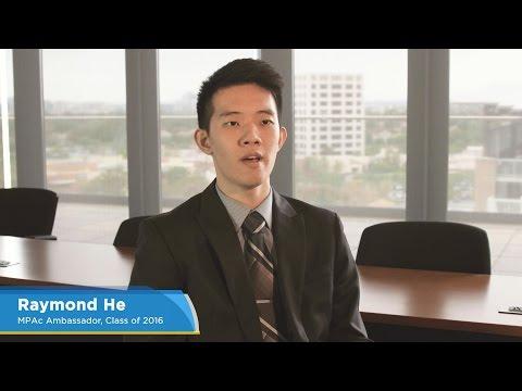 UCI Merage MPAc: Raymond He (Business Economics)