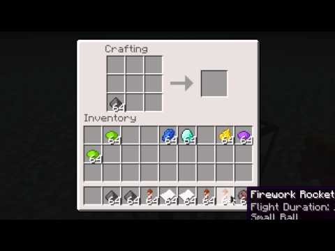 [TUTORIAL] : Cum sa faci artificii in Minecraft