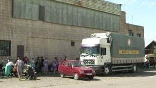 Мобильные бригады Штаба Рината Ахметова доставили помощь в прифронтовую зону в Володарском районе