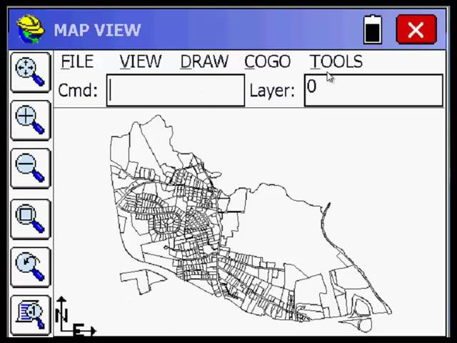 SurvCE Workflow with ESRI SHP Files