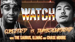 WATCH: CONCEITED vs DUMBFOUNDEAD with THE SAURUS, ILLMAC and CHASE MOORE