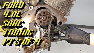 Ford Explorer Ranger 4 0l Sohc Startup Rattle Fix Timing Walkthrough Pt 3 Of 4 Engine Timing Youtube