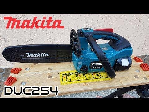 Аккумуляторная цепная пила Makita DUC254 / brushless