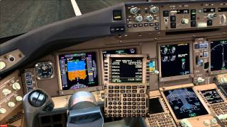 FSX: PMDG 777 Landing in Cancun
