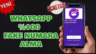 Fake Numara Alma [WHATSAPP]