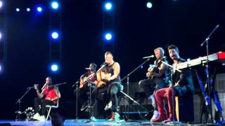 Backstreet Boys In A World Like This Tour - 5 songs Acapella Medley Live