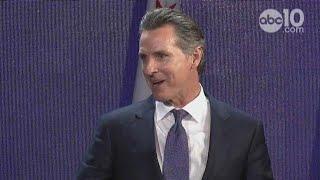 FULL RAW: Gavin Newsom's speech after winning election for California Governor
