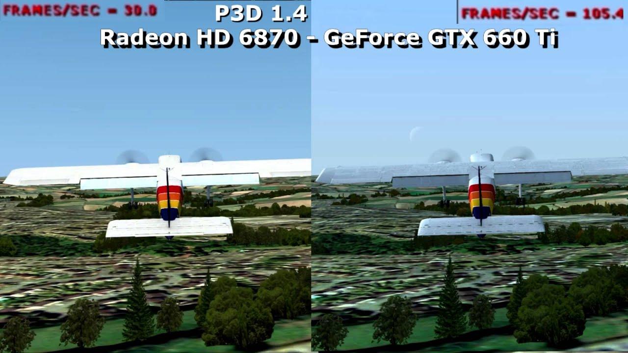 Fsx Wallpaper Hd Radeon Hd 6870 Vs Nvidia Gtx 660 Ti Sceneries P3d Youtube
