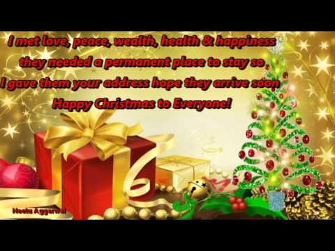 Merry Christmas/Happy Christmas/ Wishes/Greetings/Quotes/Sms ...