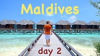 Мальдивы | день 2 | Сколько стоит отдых на Мальдивах?(Сколько стоит отдых на Мальдивах. Сколько стоит перелет до Мальдив. Сколько стоит отель на Мальдивах. Налог..., 2016-03-28T12:27:09.000Z)
