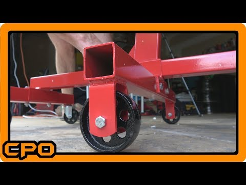 Harbor Freight Pittsburgh 1000 Pound ( 1/2 Ton) Engine Stand Assembly and Review