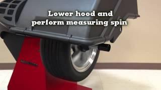 John Bean B500L Wheel Balancing System