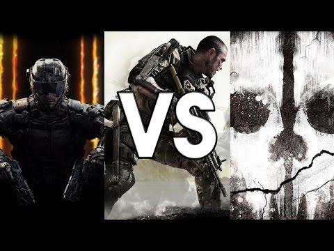 Versus - Call of Duty Developers: Infinity Ward vs. Treyarch vs. Sledgehammer Games