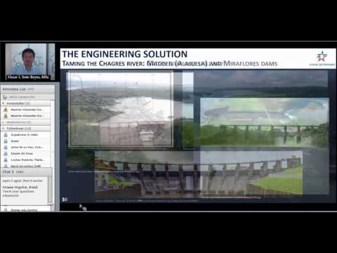 IHE Delft Alumni Online Seminar on Panama Canal Expansion: Building the future, honoring the past