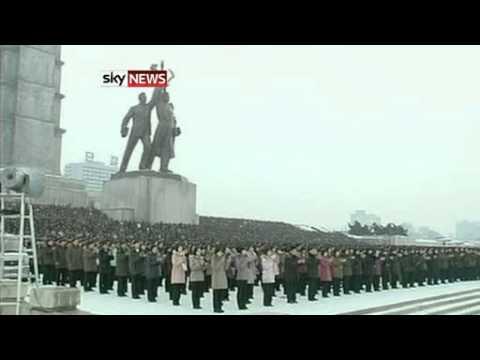 North Korea Rocket: Mass Rally Staged