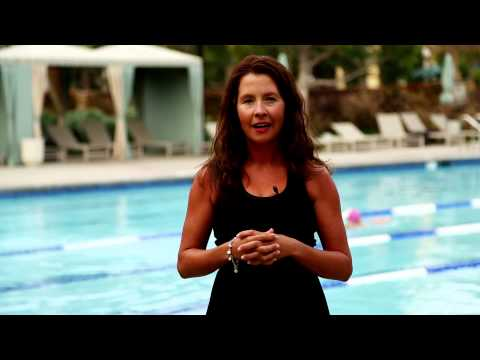 How to Dunk Under Water to Wet Hair : Water Workouts