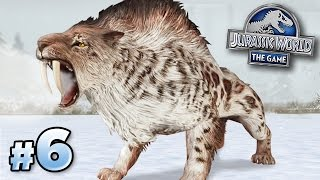 Smilodon UNLOCKED!!! || Jurassic World - Cenozoic Series - Ep6 HD
