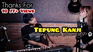 Download lagu AKU RA MUNDUR (TEPUNG KANJI) Syahiba Saufa ft. James AP (Official Music Video)
