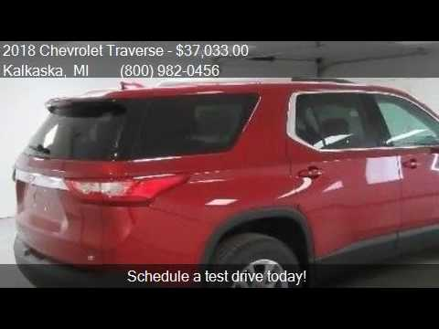 2018 chevrolet traverse lt cloth 4x4 4dr suv w 1lt for for Voice motors kalkaska michigan