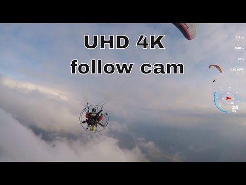 Paramotor | video 4k | follow cam| | (romania )