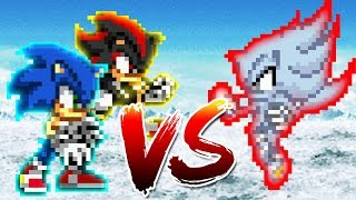 Sonic and Shadow vs Nazo (1K special)