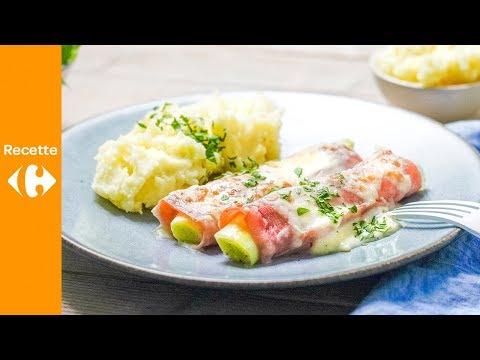 roulades-de-jambon-aux-poireaux-et-au-gruyère