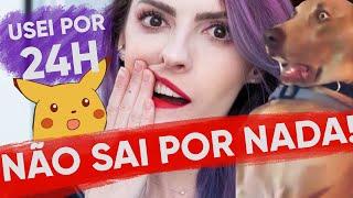 24 HORAS COM O MESMO BATOM! - Karen Bachini