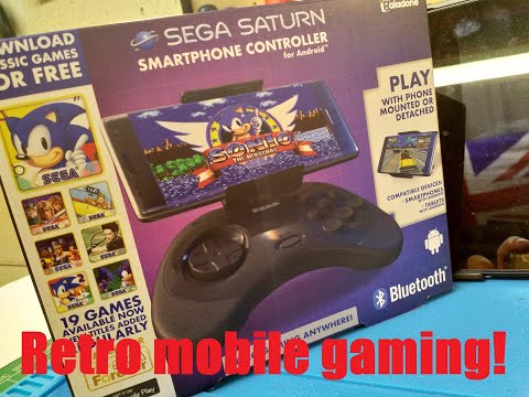 SEGA Gaming Controller For Android!! Whats It Like?