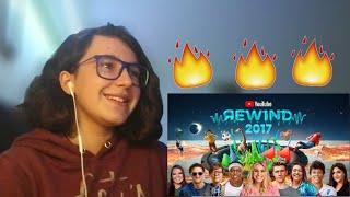 YouTube Rewind: The Shape of 2017- REACT #YouTubeRewind