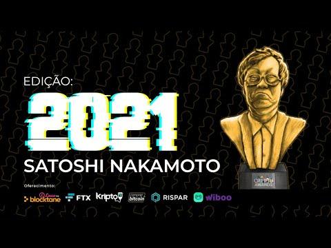CriptoAwards 2021 | Confira mais detalhes da edição Satoshi Nakamoto