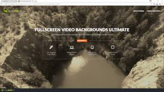 Ultimate Fulscreen Video Backgrounds For Adobe Muse CC Widget Tutorial MuseShop Net
