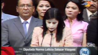 Diputada Norma Leticia Salazar Vázquez PAN