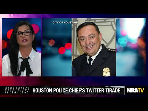 Authoritarian Houston Police Chief Art Acevedo's Twitter Mel