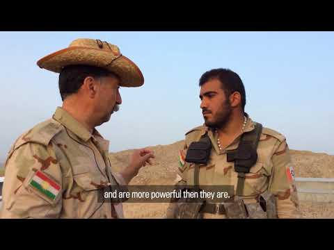 Strategic mountain ridge key to Peshmerga's hold on Kirkuk