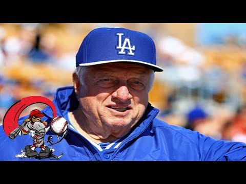 Happy birthday tommy lasorda and his message to the dodgers