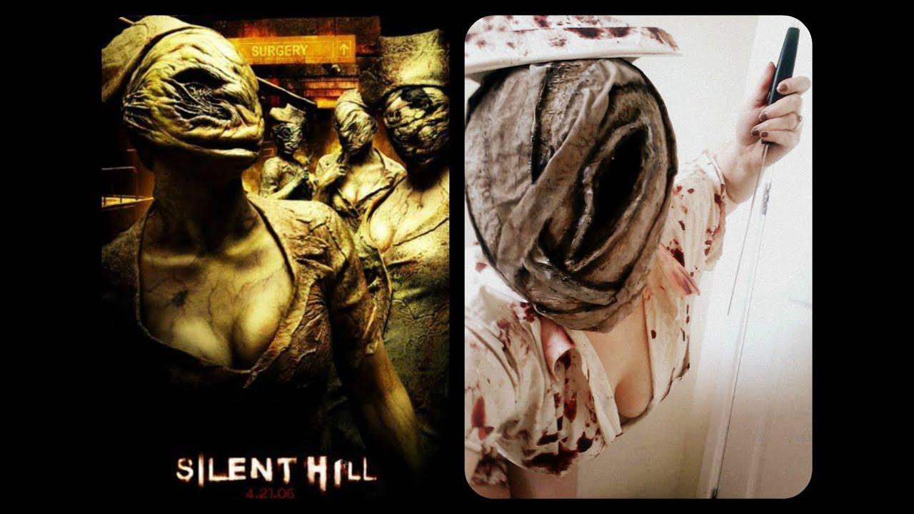 97eec18e49306 Silent Hill Nurse Mask Tutorial - YouTube