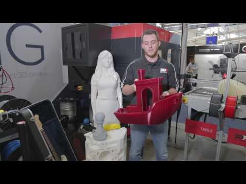 3D Platform's Extreme Benchy Print