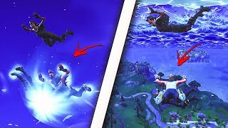 *NEW* INSANE FLOATING GLITCH USING THE NEW RIFT/PORTAL - FORTNITE SEASON 5 GLITCHES