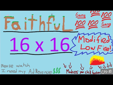 Faithful 16 by 16 revamp fps swag friendly pack