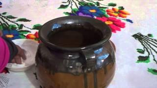 Como curar una olla de barro - 2 maneras distintas de hacerlo - La receta de la abuelita