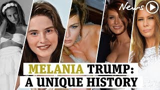 Melania Trump: The bizarre history of America's First Lady