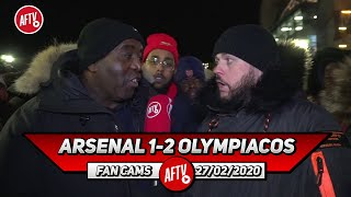 Arsenal 1-2 Olympiacos | Without Aubameyang We'd Be In A Relegation Battle Don't Blame Him! (DT)