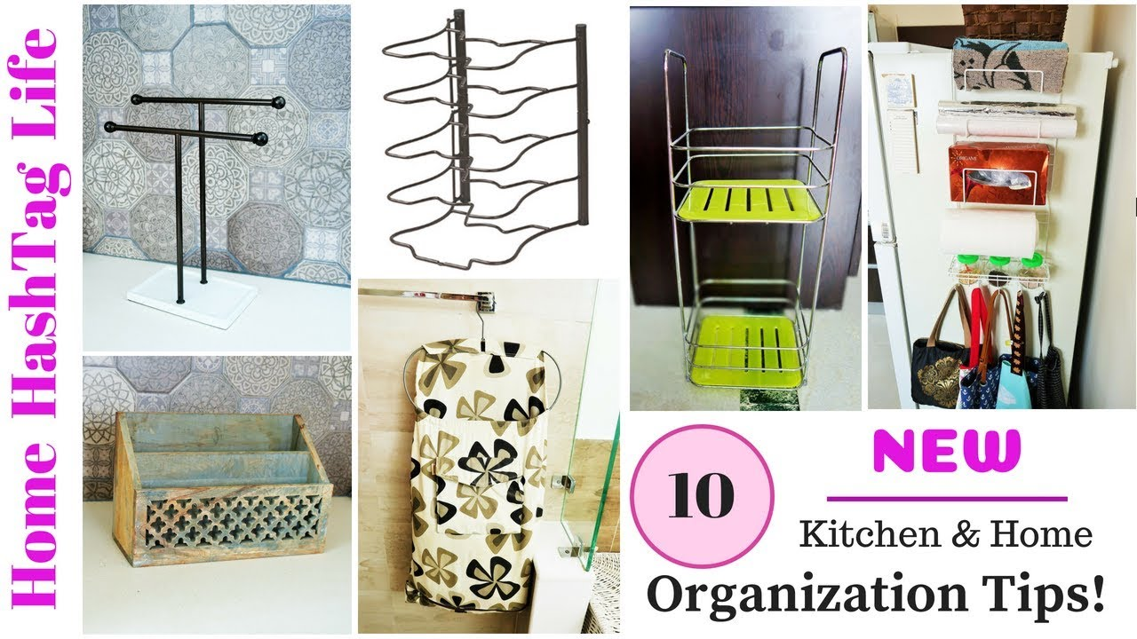 10 NEW Kitchen - Home Organization Tips & Ideas | How To Organize ...