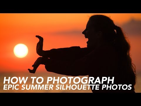 HOW TO PHOTOGRAPH SILHOUETTE SUNSET PHOTOS